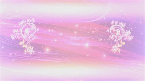pink floral thread  lights title intro motion