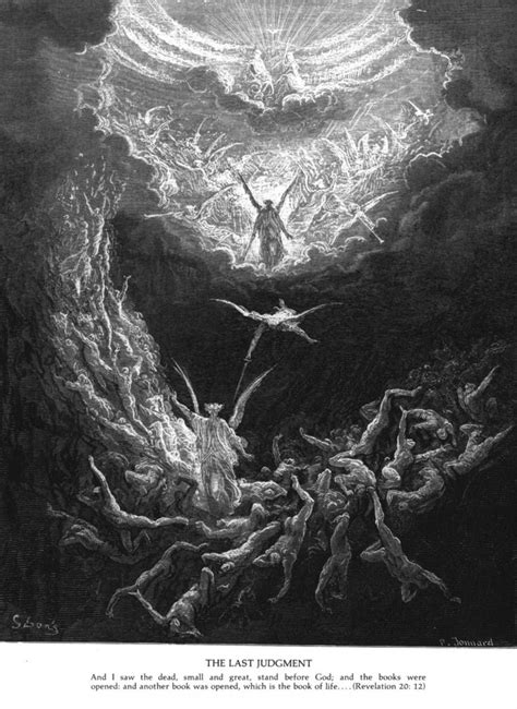 The Book of Revelation Woodcuts by gustave Dore (1832-1883) | Revelation Resources | Pinterest