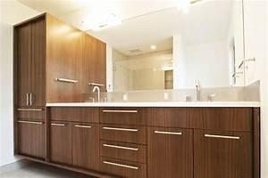 Create, Contemporary, Look, With, Mid, Century, Modern, Bathroom, Vanity, Ideas, U2013, Homesfeed