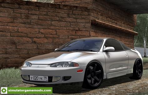 Mitsubishi Eclipse Mods by City Car Driving 1 5 5 Mitsubishi Eclipse Car Mod