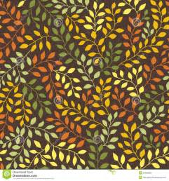 Autumn Fall Leaves Patterns