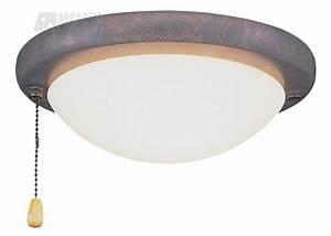Emerson cfcllk transitional low profile ceiling fan light
