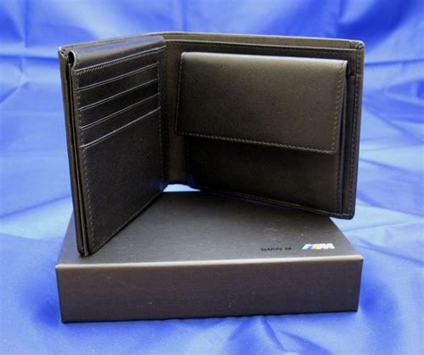 Bmw Solon Ohio by Sell Bmw M Leather Wallet Oem Accessory Motorcycle In