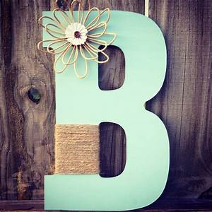 13 inch wooden letter wrapped with twine and by for 13 inch wooden letters