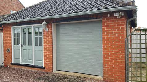 insulated 2 car garage door new insulated sectional garage door grantham east
