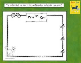 pete the cat songs kindergarten crayons pete the cat keep walking along