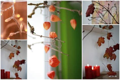 Herbstdeko Für Große Fenster by Blick Durch Das Schl 252 Sselloch Herbst Deko Bei Elf19
