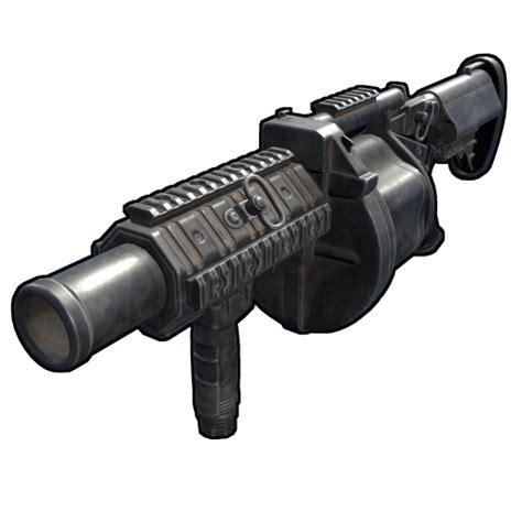 launcher grenade multiple rust m32 description damage armory draw