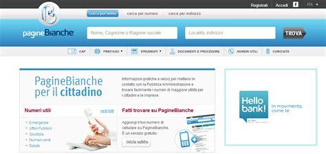 Elenco Telefonico Pavia by Paginebianche E Provincia Ricerca Da Numero L