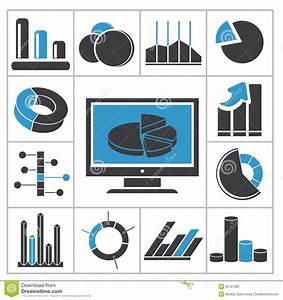 Diagrams Icons Stock Vector  Illustration Of Change