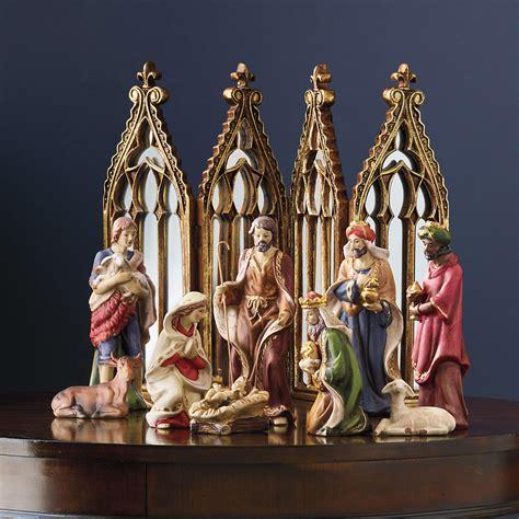 nativity set 9 piece gump s