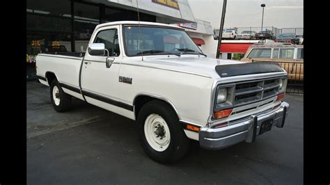 1989 Dodge Ram For Sale by 1989 Dodge Ram 250 Le Cummins I6 Turbo Diesel 1 Owner
