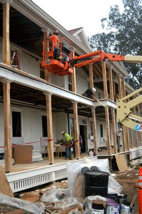porch reconstruction golden gate national recreation