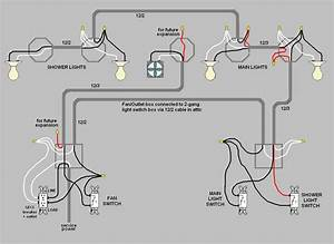 Light Switch Wiring Diagrams For Bedroom