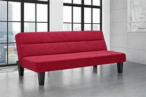 dhp furniture kebo futon red With kebo futon sofa bed assembly instructions