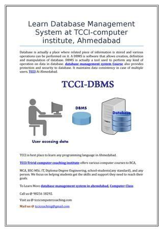 learn  management system  tcci computer