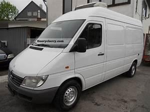 Mercedes 308 : mercedes benz sprinter 308 cdi long high refrigerator car no 313 2002 refrigerator box truck ~ Gottalentnigeria.com Avis de Voitures