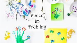 Malen Mit Kindern : malen mit kindern 6 ideen zum malen im fr hling mama kreativ youtube ~ Orissabook.com Haus und Dekorationen