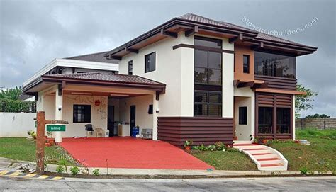 tropical design  storey residential home  tagaytay