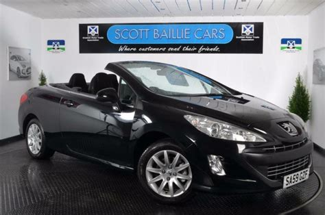 Peugeot 308 Convertible by 2009 Peugeot 308 Cc Sport Convertible Petrol In East End