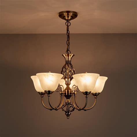 rolli antique brass effect  lamp pendant ceiling light