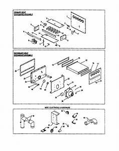 Heat Exchangers  Misc Electrical Diagram  U0026 Parts List For