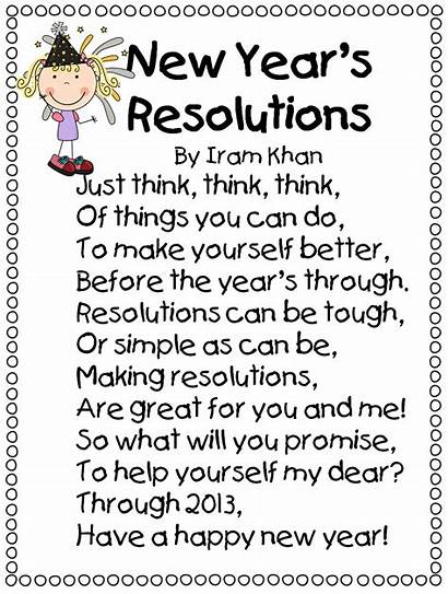 Happy Poem Grade Early January Resolution Funny