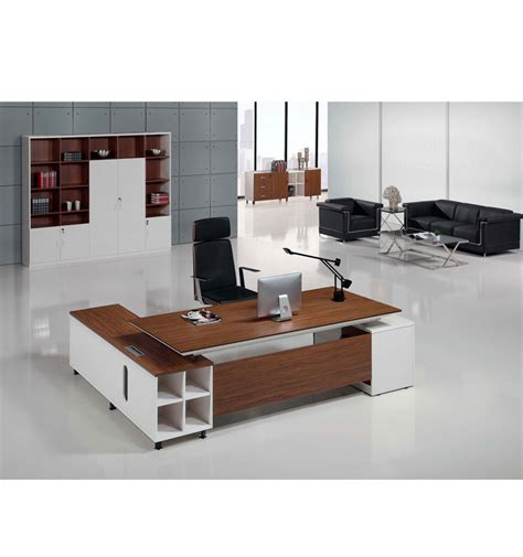 small white office desk modern walnut veneer and white small executive desk buy