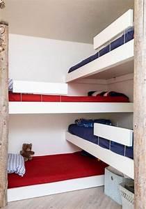 Lit 4 Places : lit superpos moderne id es design placer dans la chambre d 39 enfant ~ Teatrodelosmanantiales.com Idées de Décoration