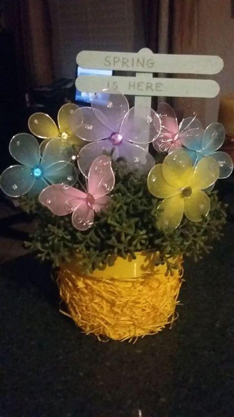 Spring Easter Easy Flower Pot Hometalk