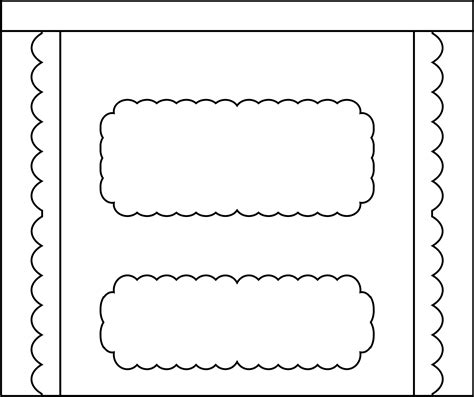 free printable bar wrappers templates blank in wrapper clipart clipart kid