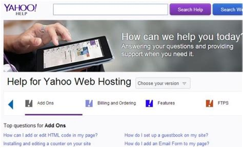 yahoo site builder review  howard steele  updated february