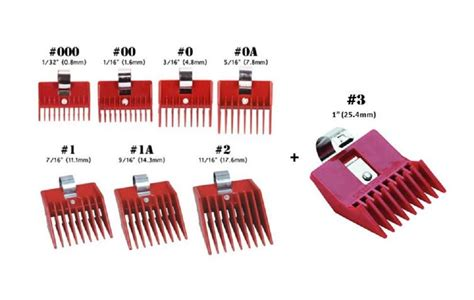 hair clipper guard sizes