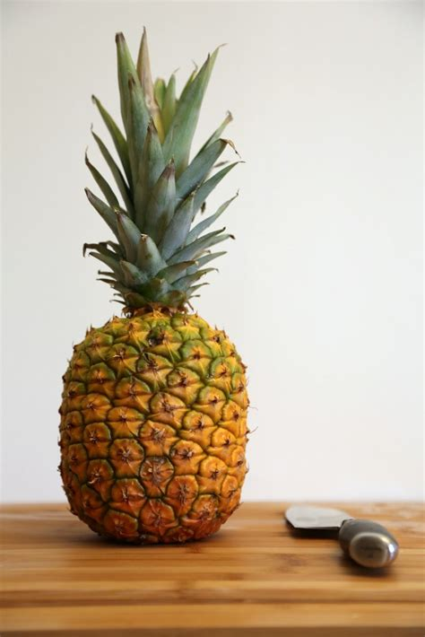 pineapple l learn how to cut a pineapple popsugar food