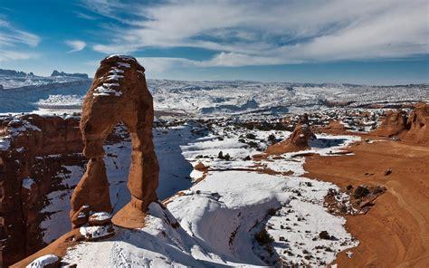 desierto nevado usa fondos hd