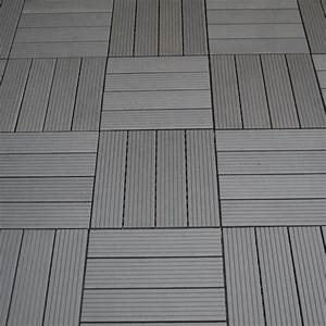 Bodenfliesen Balkon Kunststoff : wpc terrassen fliesen dunkelgrau sichtschutz ~ Michelbontemps.com Haus und Dekorationen