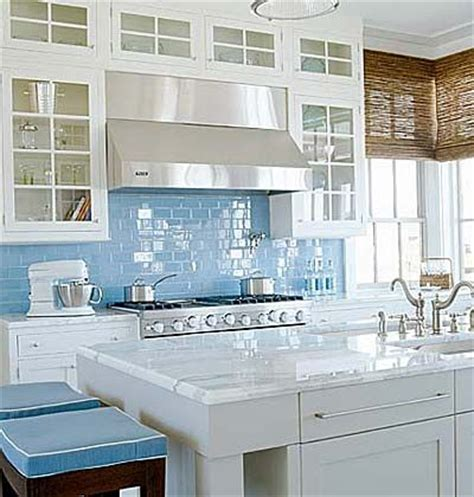 bright tiles kitchen bright coastal kitchen in blue and white interiors by color 1806