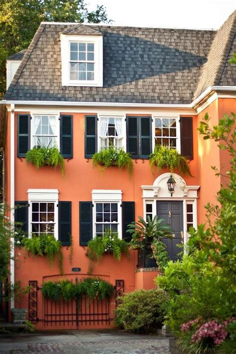 Selecting Exterior House Paint Color Combinations  Colors