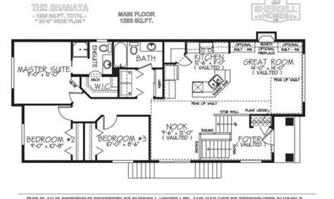 adorable   bi level house floor plans ideas home plans blueprints