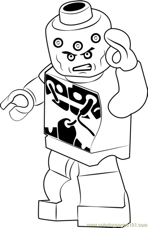 lego brainiac coloring page  lego coloring pages coloringpagescom