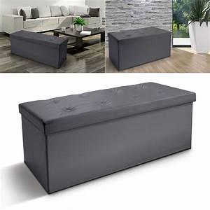 Ikea Coffre De Rangement : banc coffre rangement pvc gris 100x38x38 cm pliable accessoires ma ~ Teatrodelosmanantiales.com Idées de Décoration