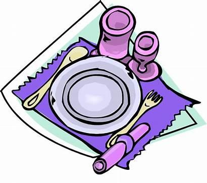 Clipart Table Setting Dinner Clipartpanda Terms