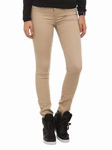 Khaki Skinny Pants | Hot Topic from Hot Topic | Things I ...