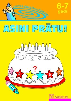 Zvaigzne ABC - Asini prātu! 6-7 gadi
