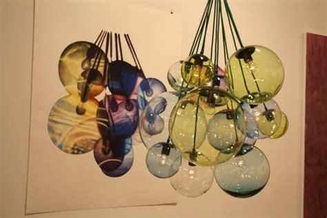 barbel grasslin light fixture blown glass home