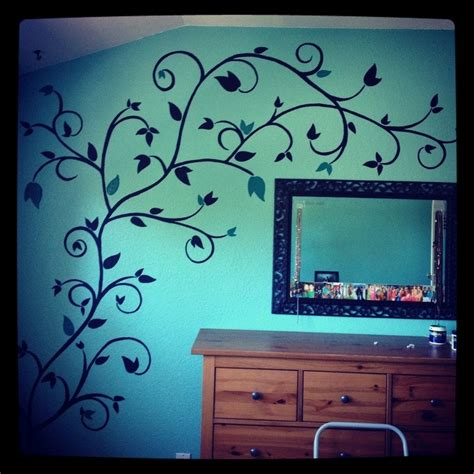 cool wall for unique bedroom wall paint ideas decorate my house