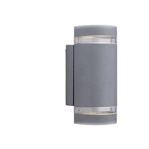 searchlight electric 6040gy grey outdoor wall light