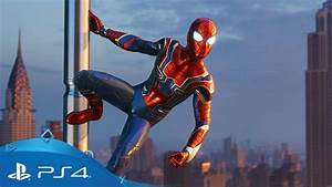 Marvel's Spider-Man | Iron Spider Suit Reveal | PS4 - YouTube