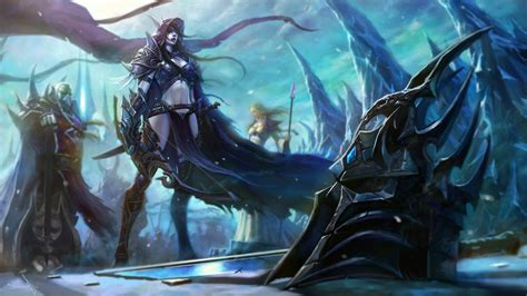 Lich King Animated Wallpaper - world of warcraft lich king varok saurfang jaina