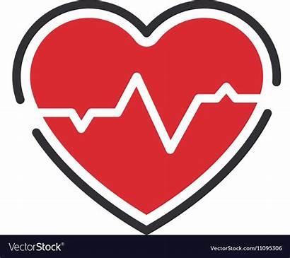 Medical Heart Icon Vector Royalty Vectorstock